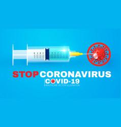Stop coronavirus 2019-ncov coronavirus vaccine vector