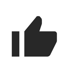 thumb up icon like sign vector image