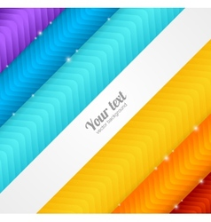 Colorful arrow background vector image