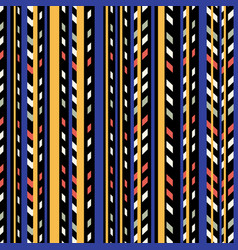 linear halloween pattern vector image