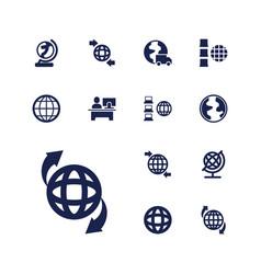 13 around icons vector