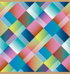 argyle geometry seamless pattern vector image