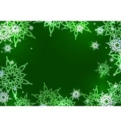card design green vector image
