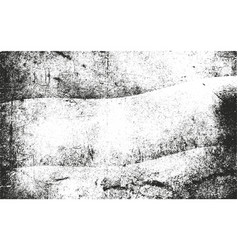 Distressed overlay texture of dust metal vector
