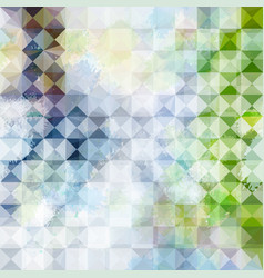 Green and blue grunge defocused background vector