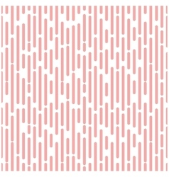 Intermittent halftone pink segment line background vector image