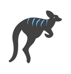 Kangaroo australia pouch vector