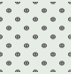 Pattern with diamonds seamless pattern can vector