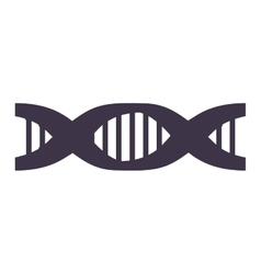 Chain of dna with information genetic vector