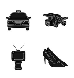 Service film and or web icon in black styleaward vector