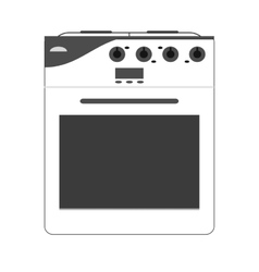 stove oven icon vector image