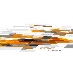Abstract orange grey speed geometric dynamic vector