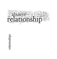 Abusive relationships leave and re live vector