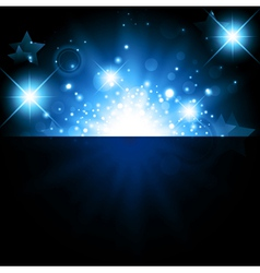 bright night background vector image