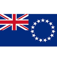 Cook Islands vector