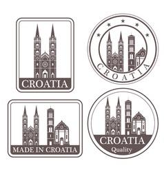 Croatia vector