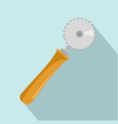 cut tool icon flat style vector image