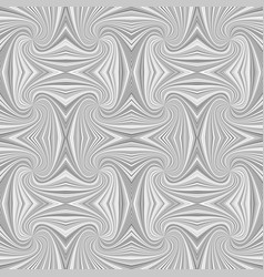 grey hypnotic abstract seamless striped swirl vector image