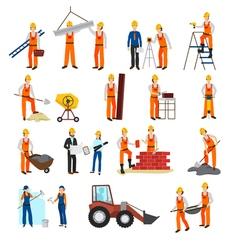 Repairs Construction Builder Set vector