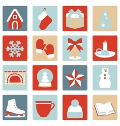 Stock of winter and Christmas vector image