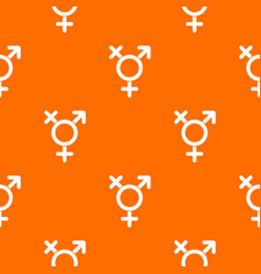 Transgender sign pattern seamless vector