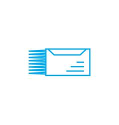 Urgent letter linear icon concept urgent letter vector