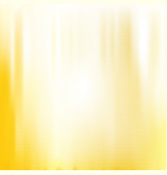 yellow white halftone blurred background vector image