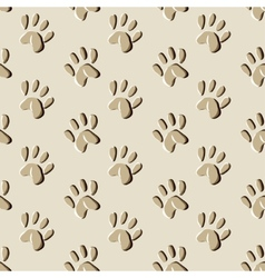 Animal prints seamless pattern vector