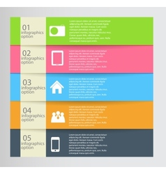 Infographic business template vector image vector image