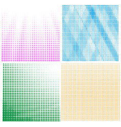comics book background halftone pattern vector image