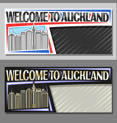 Layouts for auckland vector