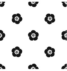 Rose of sharon korean flower pattern seamless vector