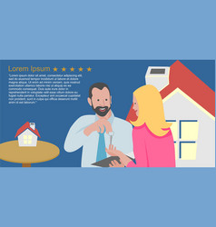 Salesman house brokers provide key to new vector