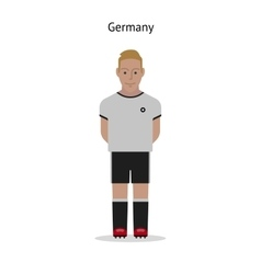 Football kit Germany vector image