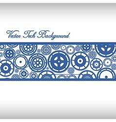 Cogwheels Ornaments vector image vector image