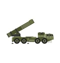 Military rocket launcher vector image