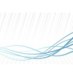 Technology rapid blue lines background vector image vector image