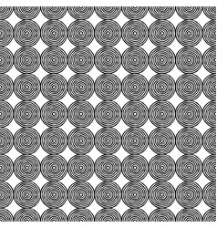 A background of many circles uneven contours vector