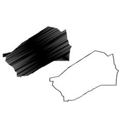 Agadez region regions niger republic the vector
