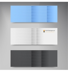 banners and line Color web design vector image vector image