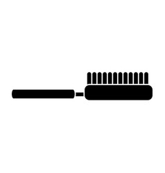 brush hairdressing icon image vector image