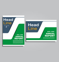 flyers report brochure cover book portfolio design vector image