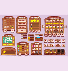 game gui 23 vector image