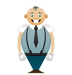Shorty office man vector