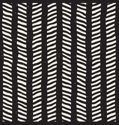 simple ink zig zag lines geometric seamless vector image