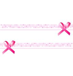ribbon background wallpaper pink banner vector image
