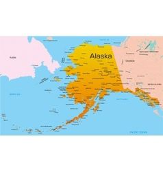 Alaska vector image vector image