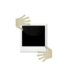 polaroid vector image