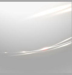 abstract shiny curve line and flow background vector image