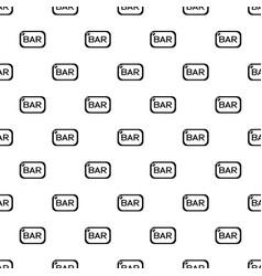 Bar board pattern seamless vector